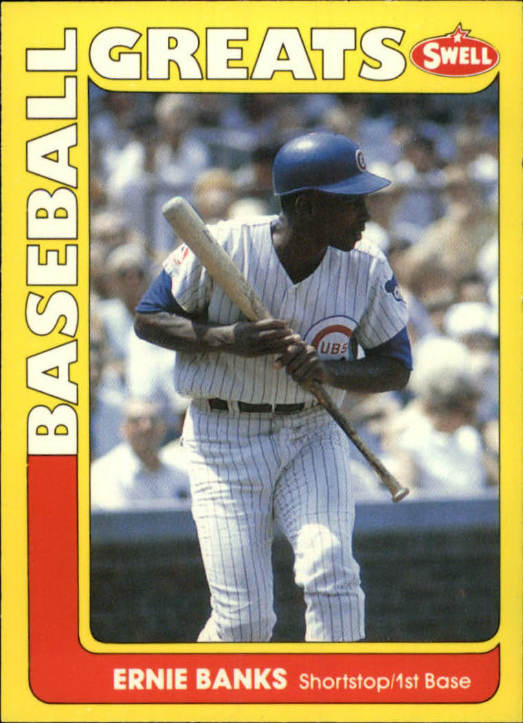 1991 Swell Baseball Greats #5 Ernie Banks