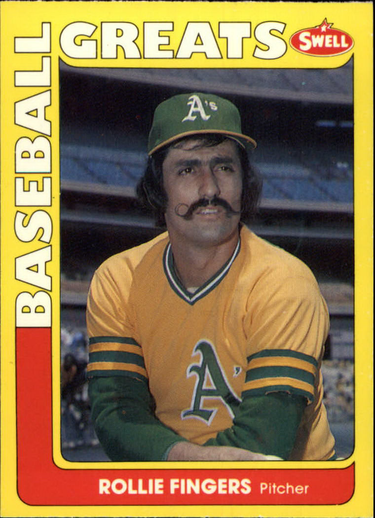 1991 Swell Baseball Greats #30 Rollie Fingers