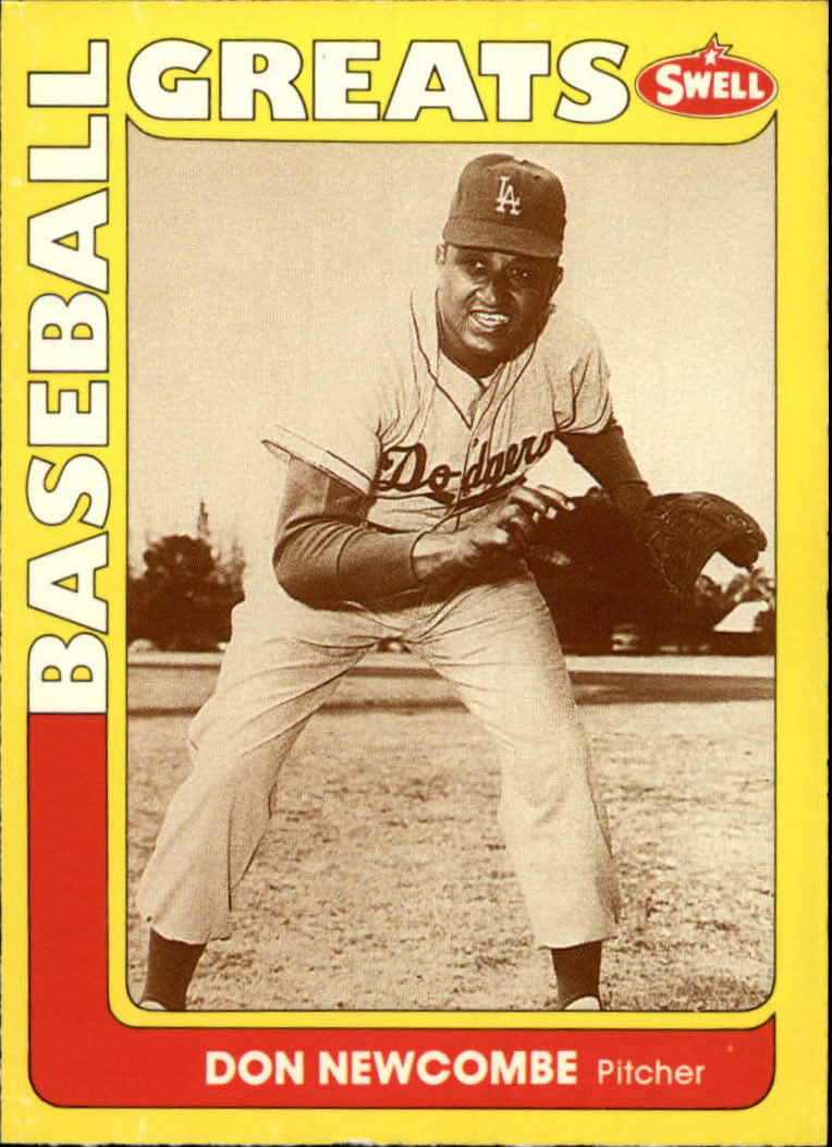 1991 Swell Baseball Greats #68 Don Newcombe