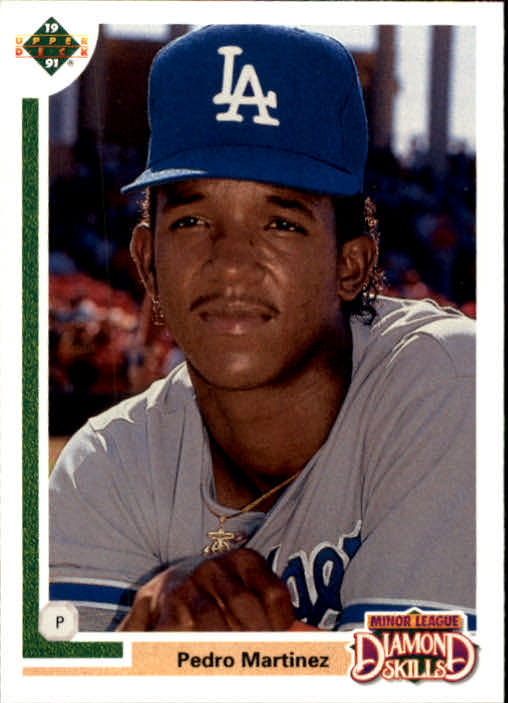 1991 Upper Deck Final Edition #2F Pedro Martinez RC