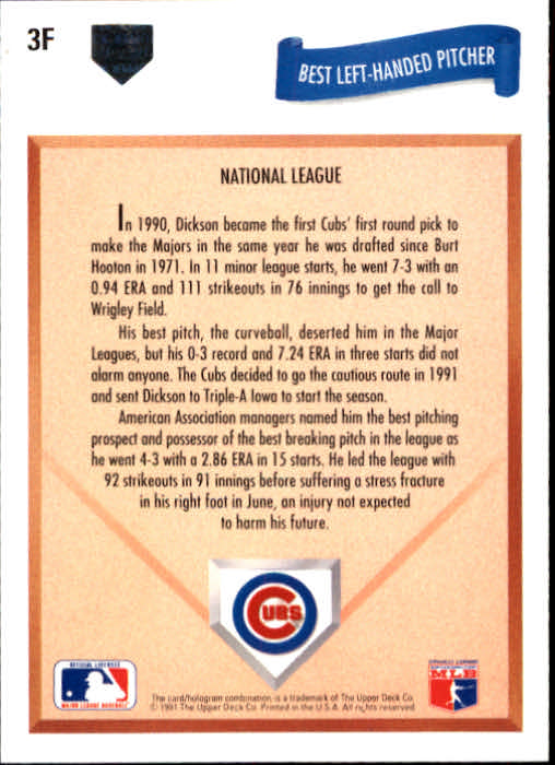 1991-Upper-Deck-Final-Edition-Baseball-Cards-Pick-From-List
