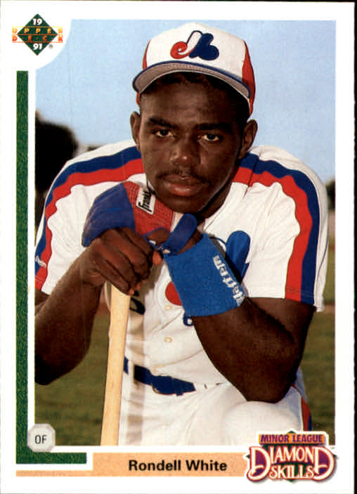 1991 Upper Deck Final Edition #10F Rondell White RC