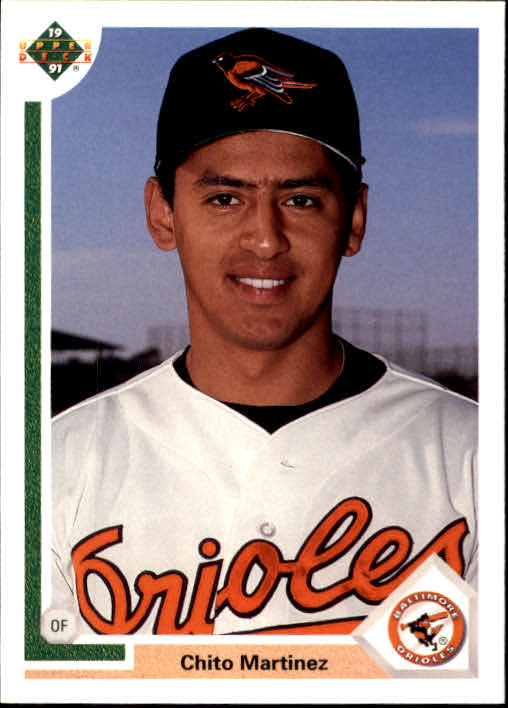 1991 Upper Deck Final Edition #30F Chito Martinez RC
