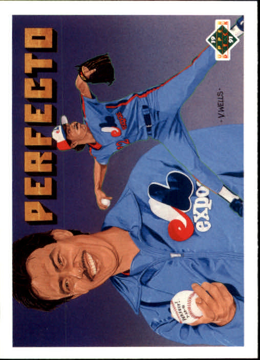 1991 Upper Deck Final Edition #50F Dennis Martinez Perfect
