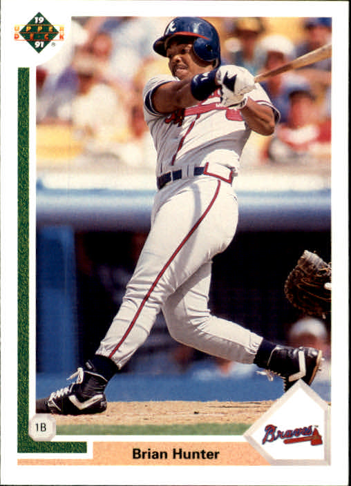 1991 Upper Deck Final Edition #54F Brian R.Hunter RC