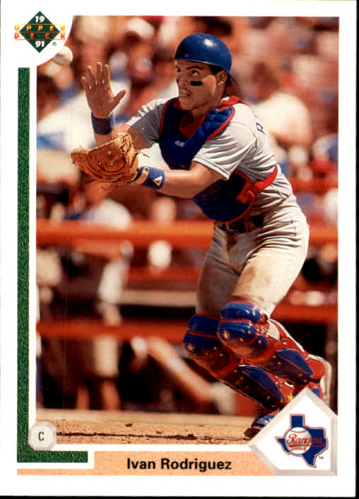 1991 Upper Deck Final Edition #55F Ivan Rodriguez RC