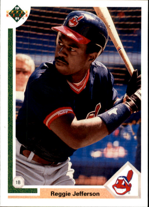 1991 Upper Deck Final Edition #73F Reggie Jefferson front image
