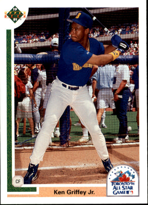 1991 Upper Deck Final Edition #87F Ken Griffey Jr. AS