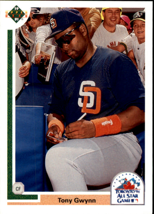 1991 Upper Deck Final Edition #97F Tony Gwynn AS