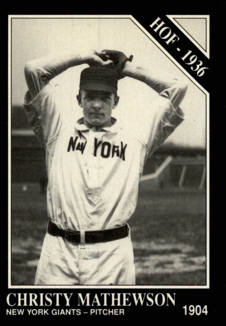 1991 Conlon TSN #57 Christy Mathewson HOF