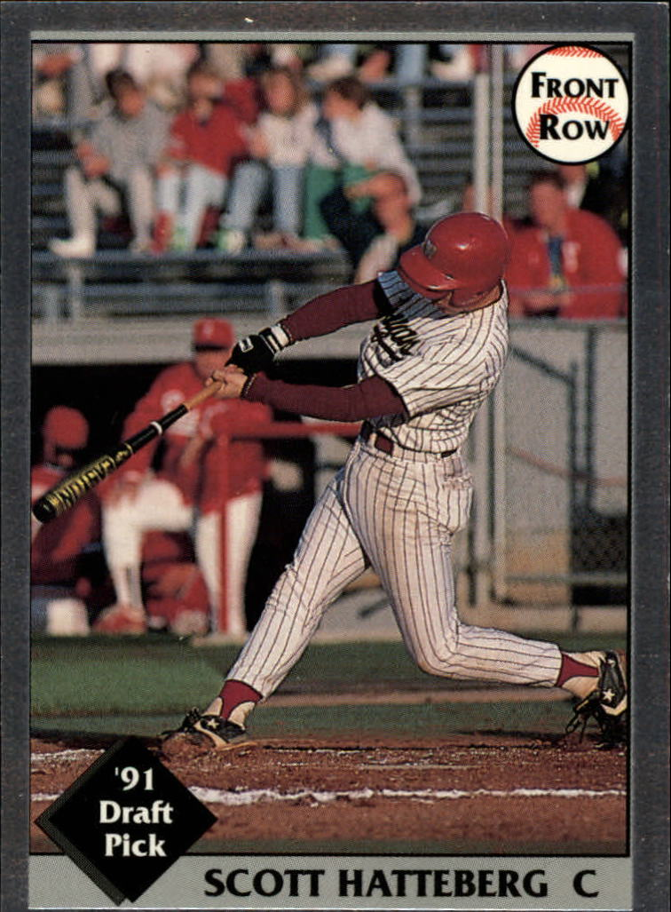 1991 Front Row Draft Picks #15 Scott Hatteberg