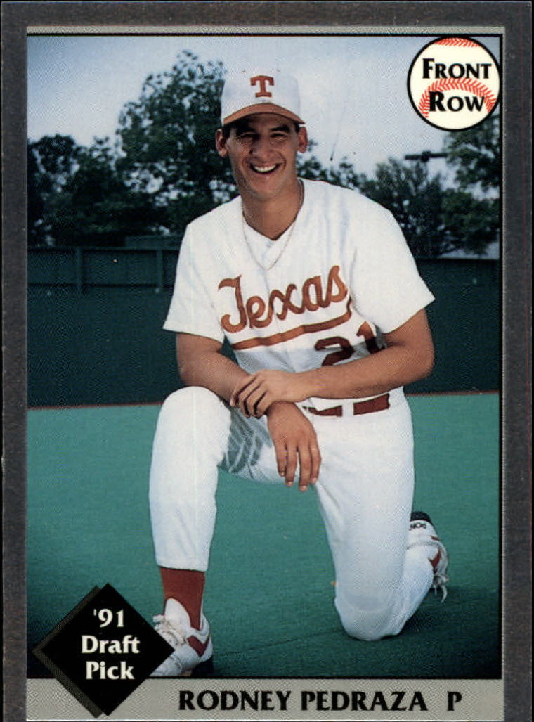 1991 Front Row Draft Picks #16 Rod Pedraza