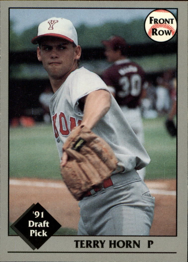 1991 Front Row Draft Picks #24 Terry Horn