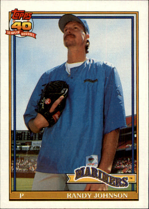 1991 Topps #225 Randy Johnson