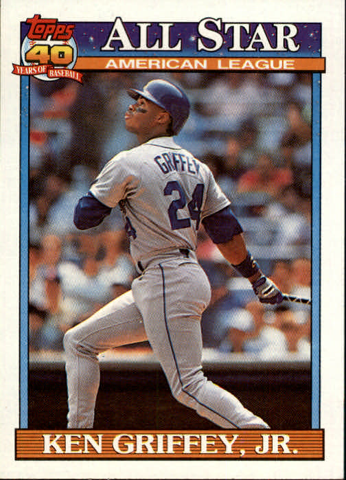 1991 Topps #392 Ken Griffey Jr. AS