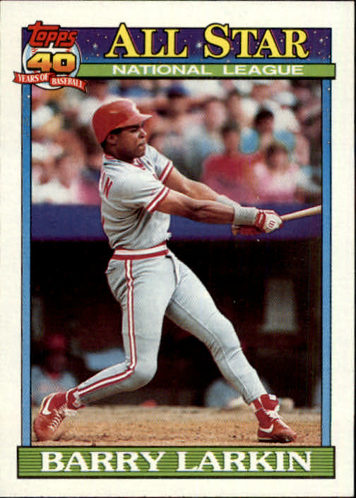 1991 Topps #400 Barry Larkin AS