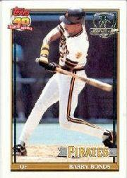 1991 Topps Desert Shield #570 Barry Bonds