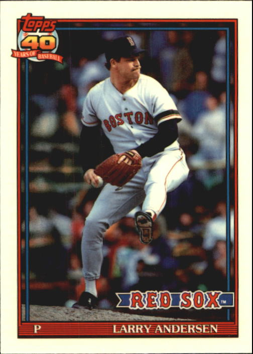 1991 Topps Tiffany #761 Larry Andersen