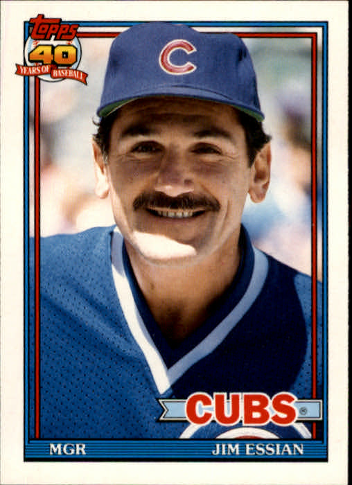 1991 Topps Traded #36T Jim Essian MG front image