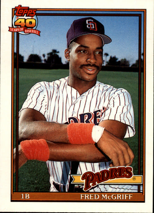 1991 Topps Traded #77T Fred McGriff