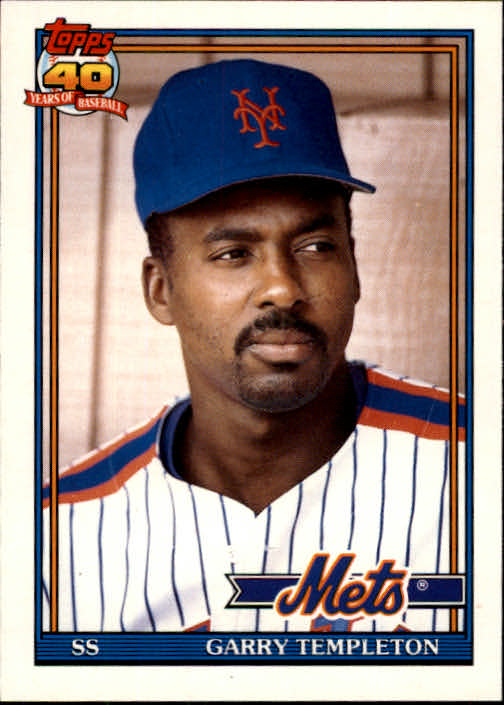 1991 Topps Traded #118T Garry Templeton