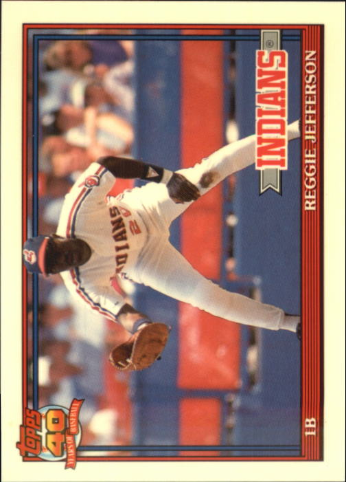 1991 Topps Traded Tiffany #60T Reggie Jefferson