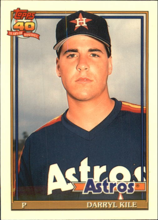 1991 Topps Traded Tiffany #68T Darryl Kile