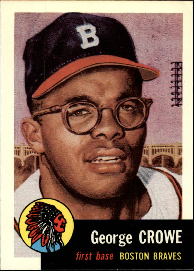 1991 Topps Archives 1953 #3 George Crowe