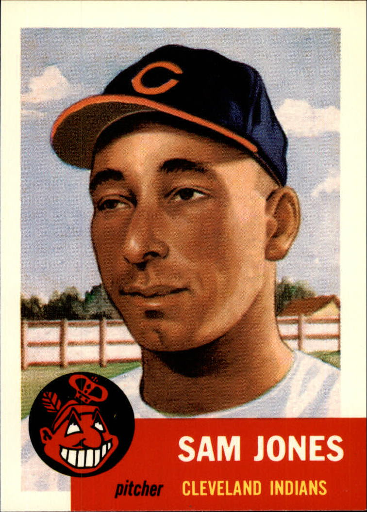 1991 Topps Archives 1953 #6 Sam Jones front image