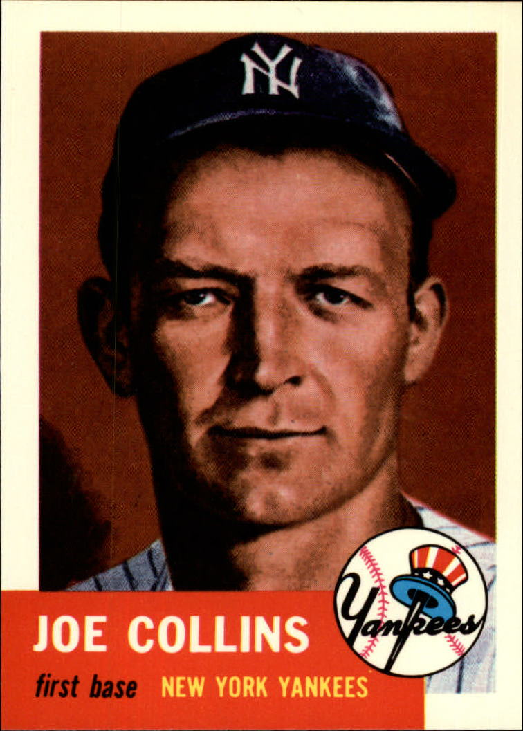 1991 Topps Archives 1953 #9 Joe Collins