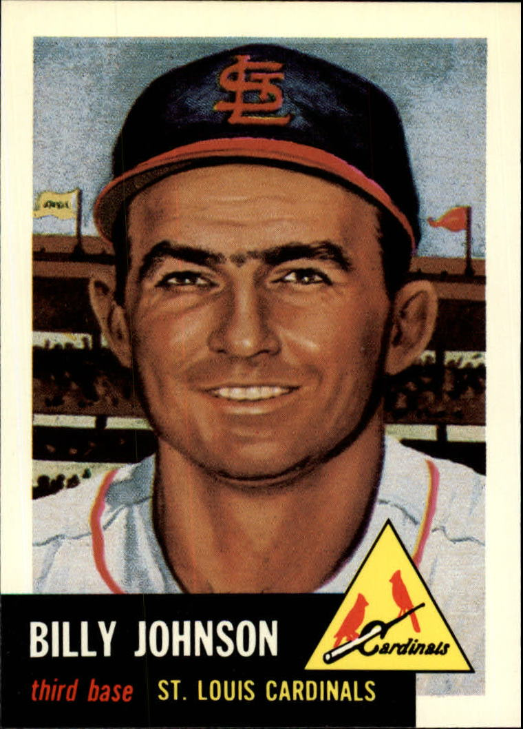 1991 Topps Archives 1953 #21 Billy Johnson