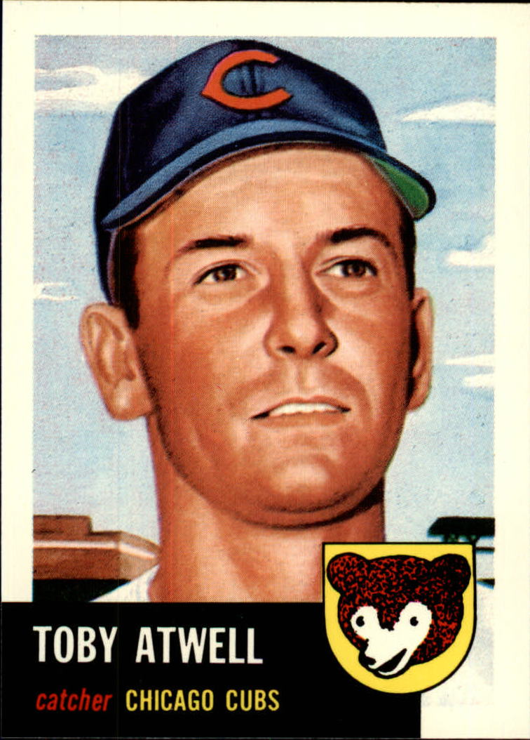1991 Topps Archives 1953 #23 Toby Atwell