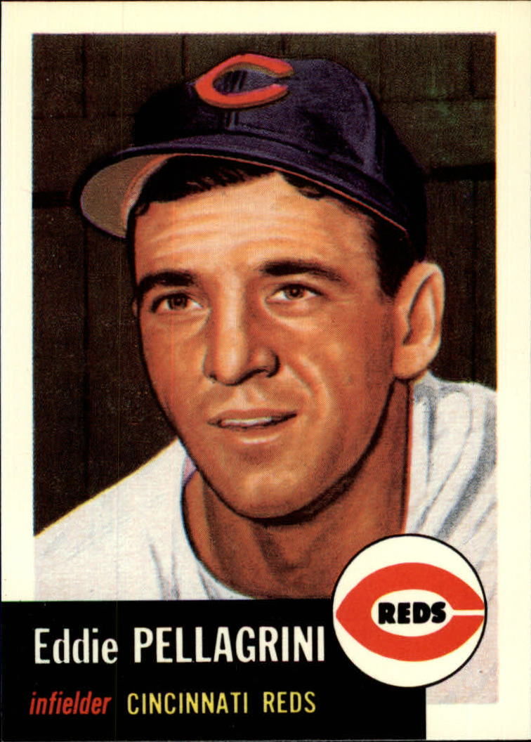 1991 Topps Archives 1953 #28 Eddie Pellagrini