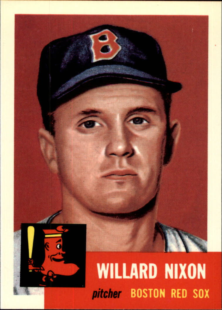 1991 Topps Archives 1953 #30 Willard Nixon