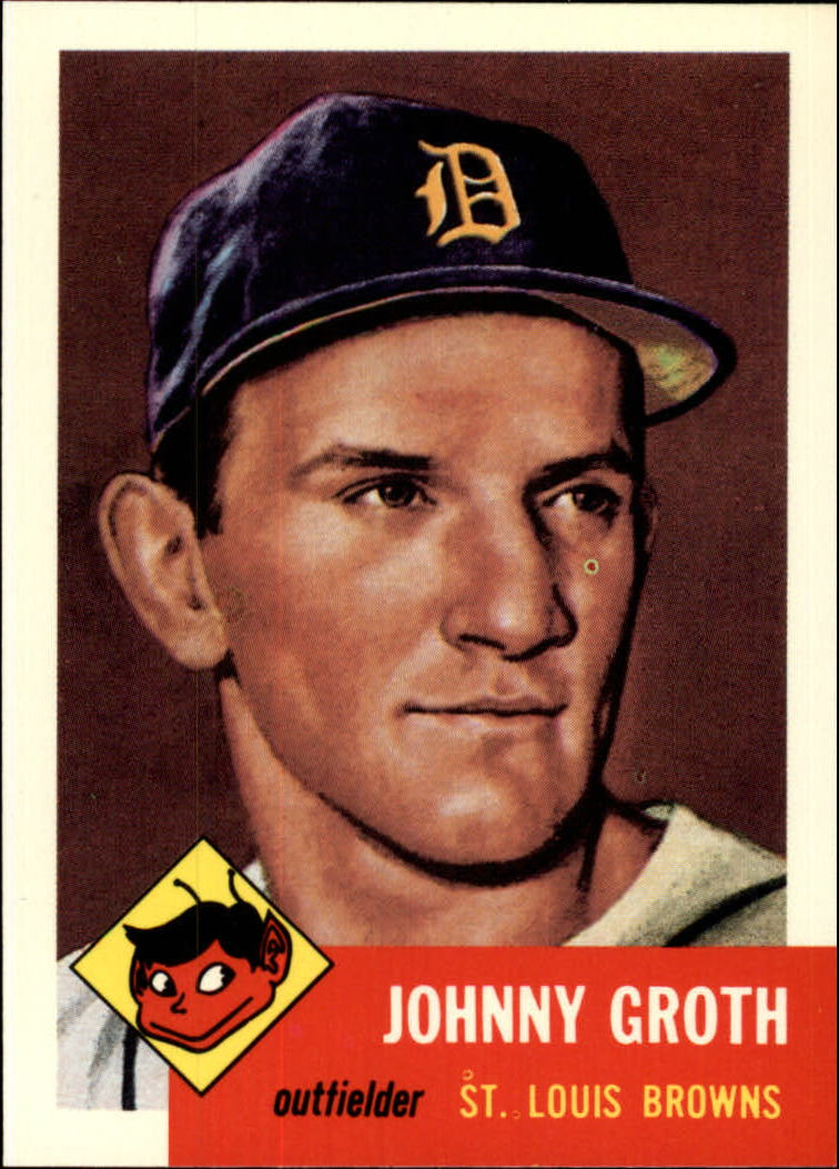 1991 Topps Archives 1953 #36 Johnny Groth front image