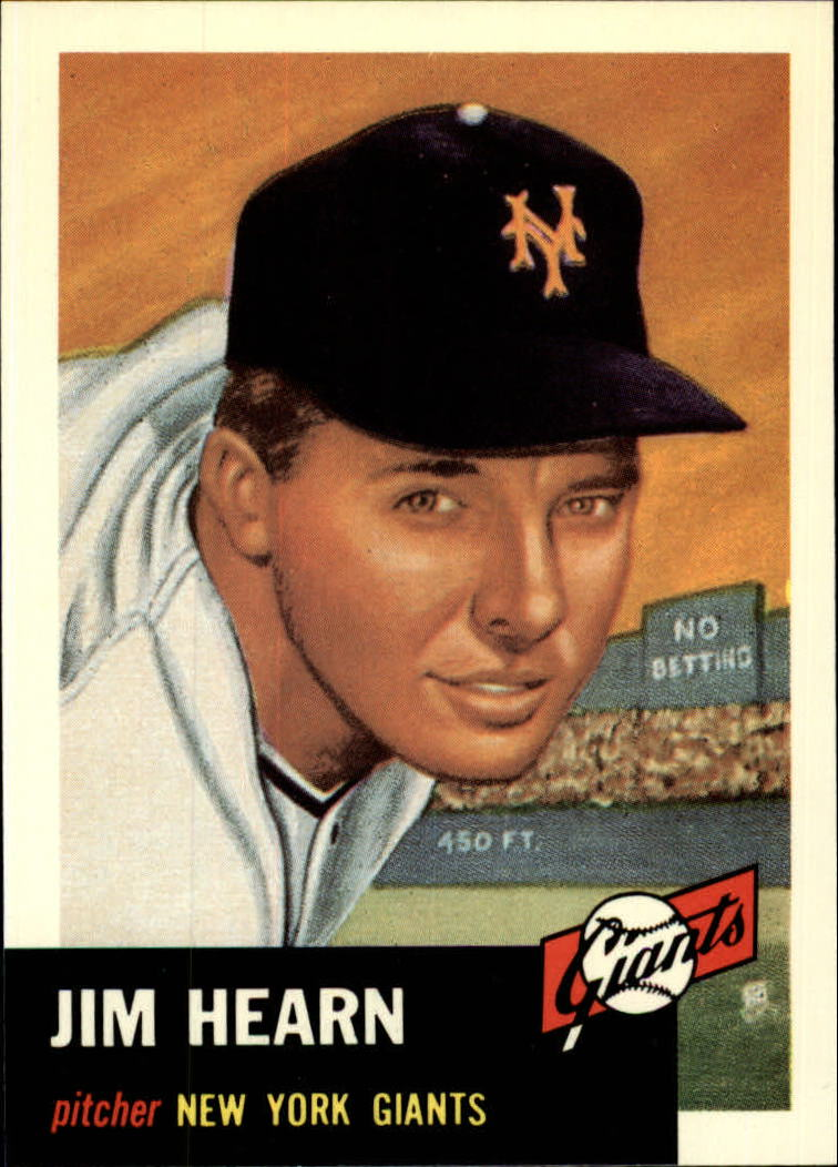 1991 Topps Archives 1953 #38 Jim Hearn front image