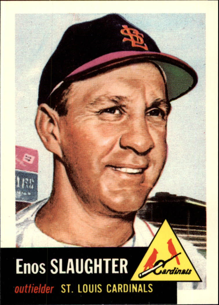 1991 Topps Archives 1953 #41 Enos Slaughter