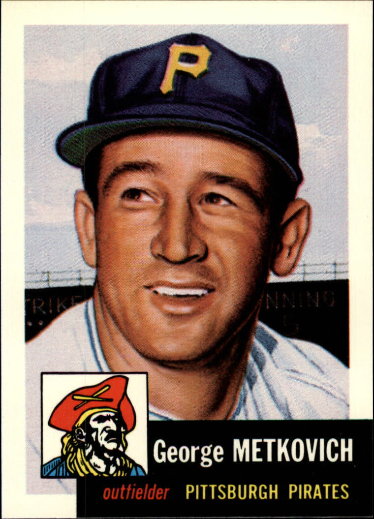 1991 Topps Archives 1953 #58 George Metkovich