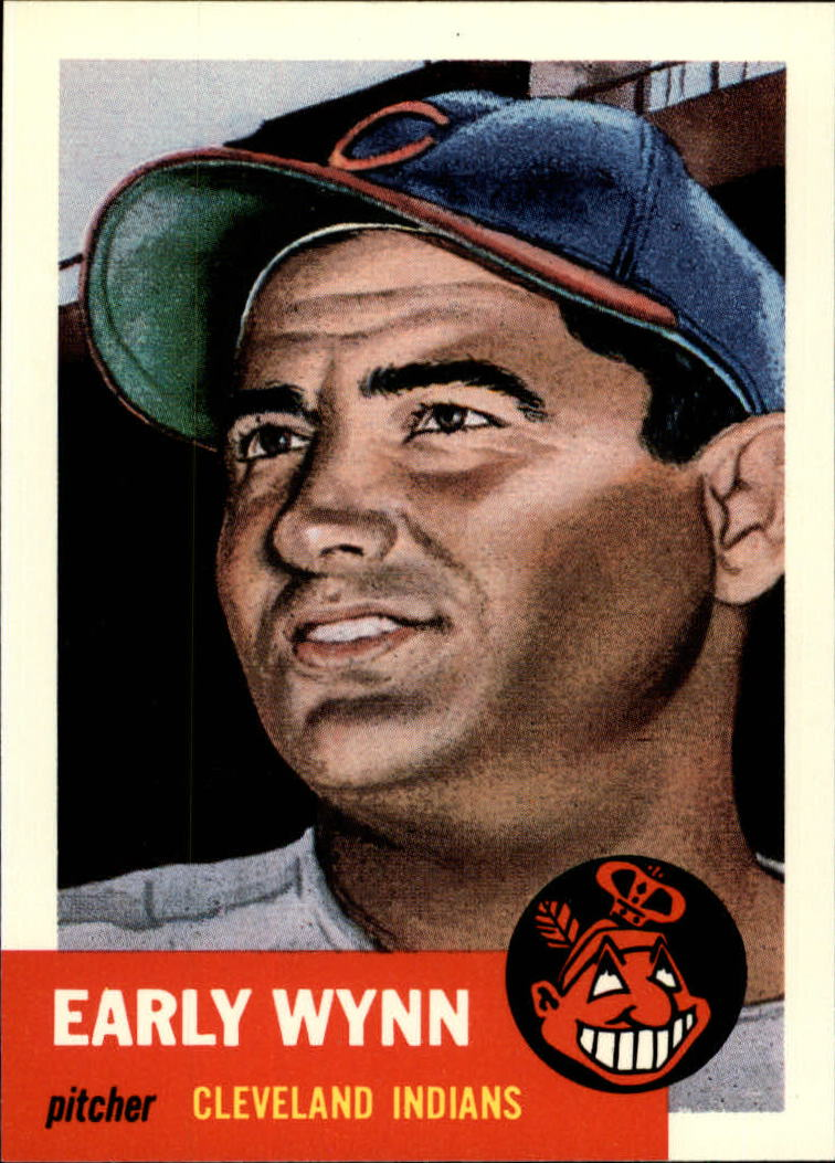 1991 Topps Archives 1953 #61 Early Wynn front image