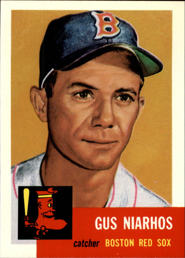 1991 Topps Archives 1953 #63 Gus Niarhos
