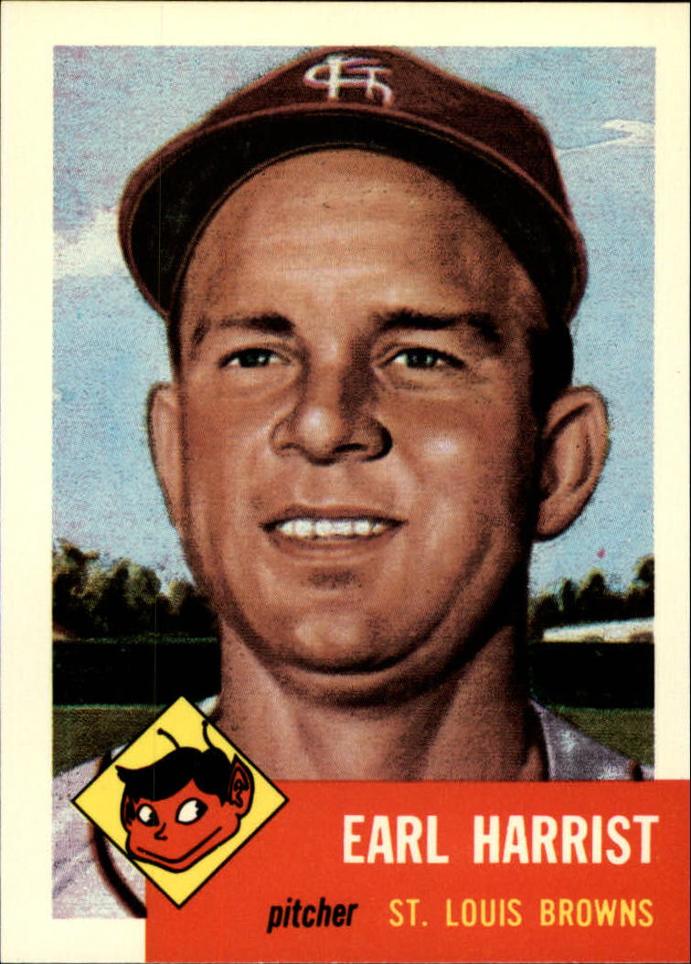 1991 Topps Archives 1953 #65 Earl Harrist