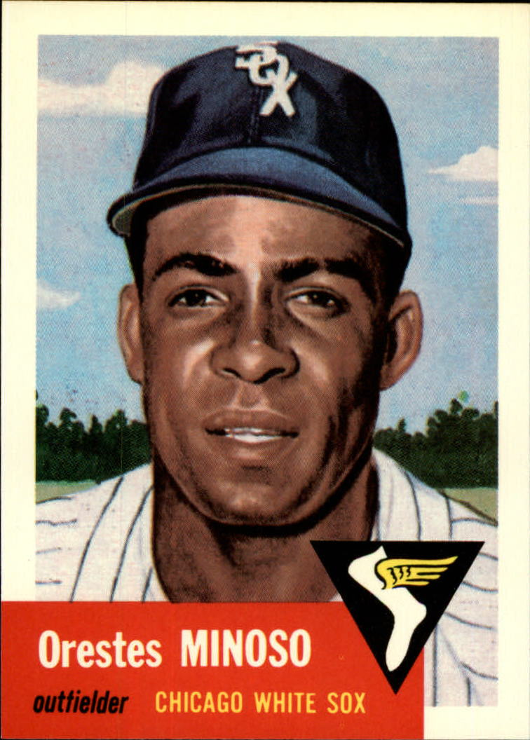1991 Topps Archives 1953 #66 Minnie Minoso