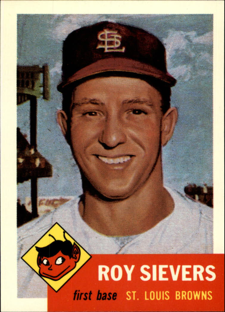 1991 Topps Archives 1953 #67 Roy Sievers
