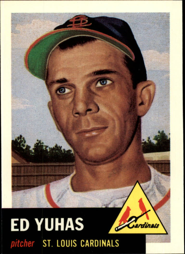 1991 Topps Archives 1953 #70 Ed Yuhas