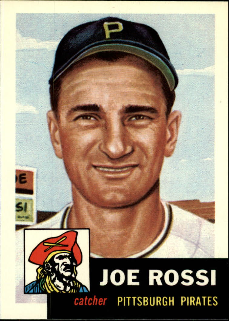 1991 Topps Archives 1953 #74 Joe Rossi front image