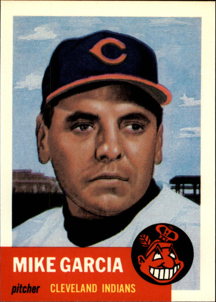 1991 Topps Archives 1953 #75 Mike Garcia front image