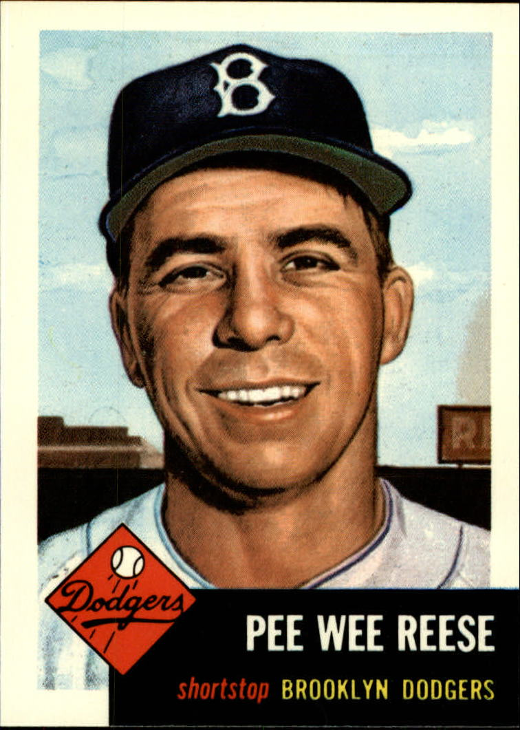 1991 Topps Archives 1953 #76 Pee Wee Reese