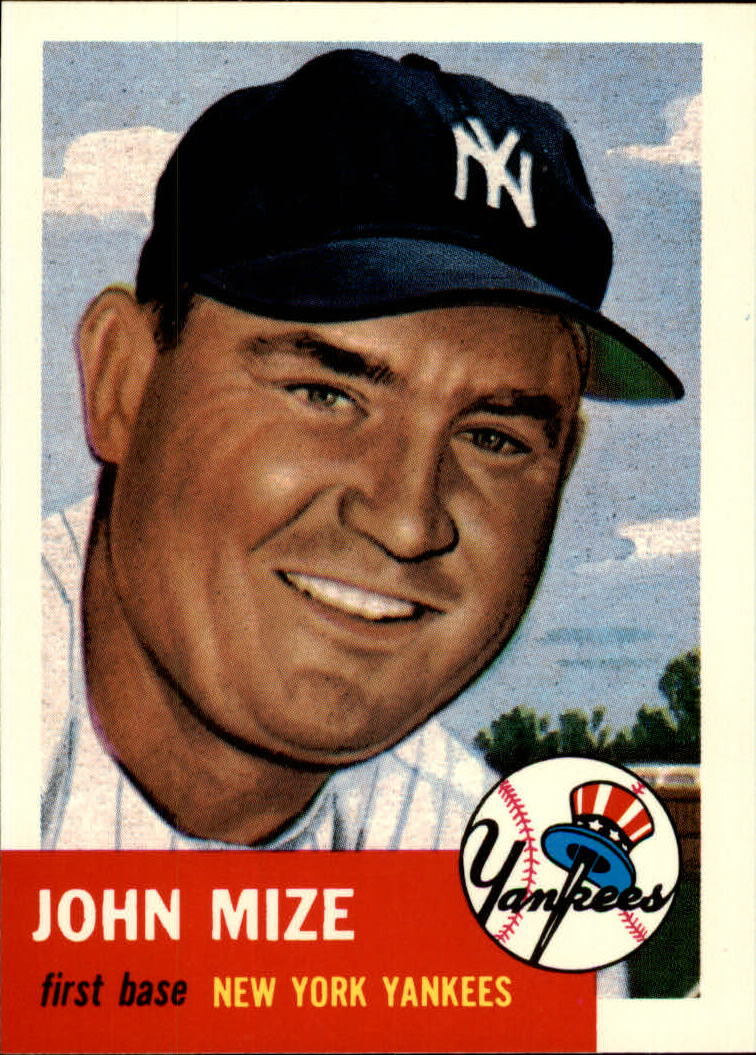 1991 Topps Archives 1953 #77 Johnny Mize front image