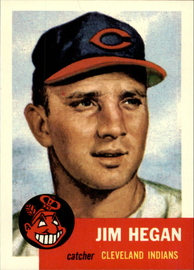 1991 Topps Archives 1953 #80 Jim Hegan