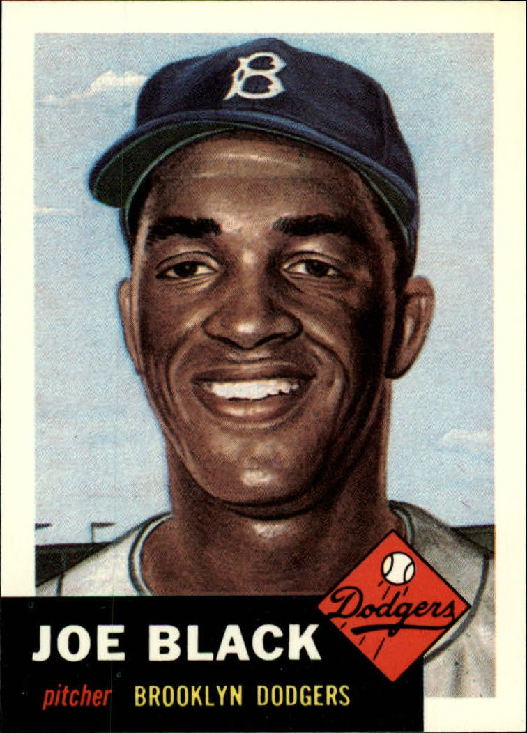1991 Topps Archives 1953 #81 Joe Black